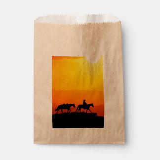 Western cowboy-Cowboy-texas-western-country Favour Bag