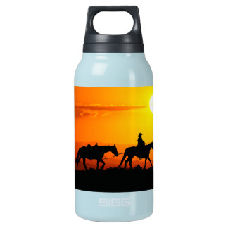 Western cowboy-Cowboy-texas-western-country Insulated Water Bottle