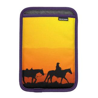 Western cowboy-Cowboy-texas-western-country iPad Mini Sleeve