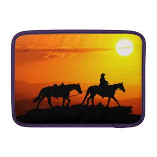 Western cowboy-Cowboy-texas-western-country MacBook Sleeve