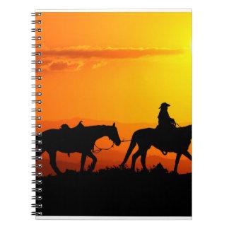 Western cowboy-Cowboy-texas-western-country Notebook