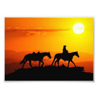 Western cowboy-Cowboy-texas-western-country Photo Print