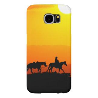 Western cowboy-Cowboy-texas-western-country Samsung Galaxy S6 Cases