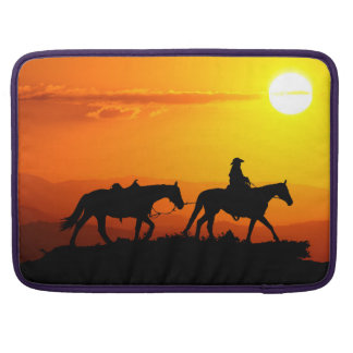 Western cowboy-Cowboy-texas-western-country Sleeve For MacBooks