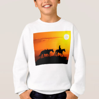 Western cowboy-Cowboy-texas-western-country Sweatshirt