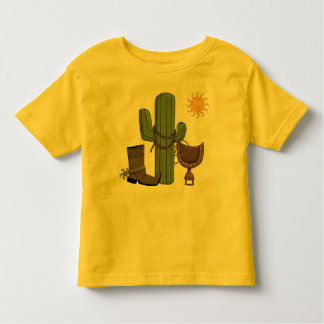 Western Desert Rest Stop Toddler T-Shirt