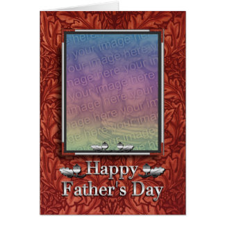 Western Father's Day Photo Card