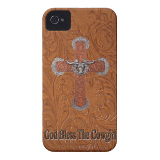 Western God Bless The Cowgirl Blackberry Bold Case