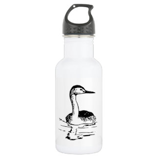 Western Grebe 532 Ml Water Bottle