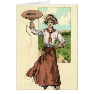Western Greetings Card