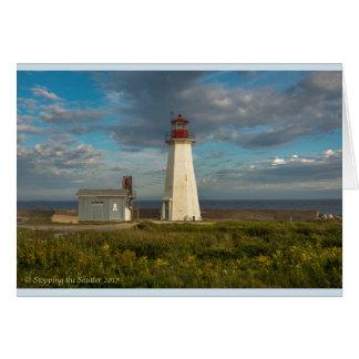 Western Head Lighthouse - Nova Scotia Card