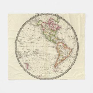 Western Hemisphere 13 Fleece Blanket