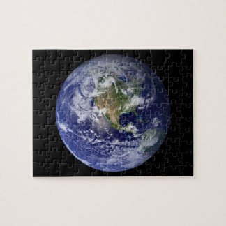 Western Hemisphere of Earth From Space Jigsaw Puzzle
