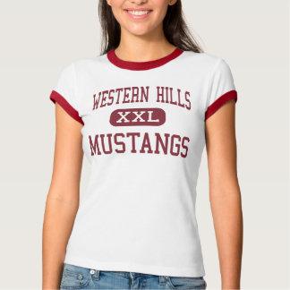 Western Hills - Mustangs - High - Cincinnati Ohio T-Shirt