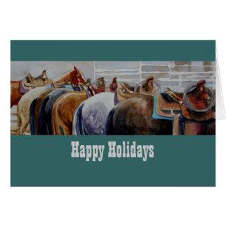 Western Horse Christmas Card