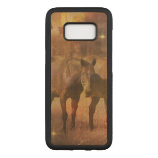 Western Horses Grazing Carved Samsung Galaxy S8 Case