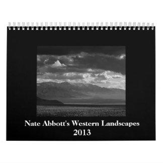 Western Landscapes 2013 Calendar