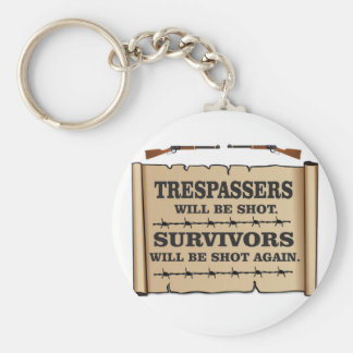 western laws of land basic round button key ring
