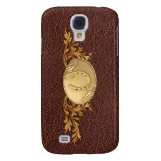 Western Leather & Golden Buckle Galaxy S4 Case