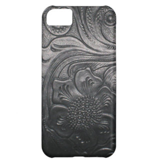 Western Leather tool print iPhone 5 case