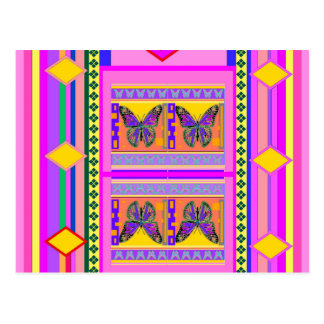 Western Monarch Butterfly Design gifts by Sharles Postcard