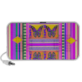 Western Monarch Butterfly Design gifts by Sharles Portable Speakers