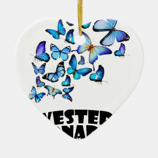 Western Monarch Day - Appreciation Day Ceramic Heart Decoration