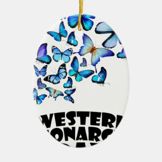 Western Monarch Day - Appreciation Day Ceramic Oval Decoration