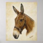 Western Mule Poster