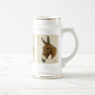 Western Mule Stein