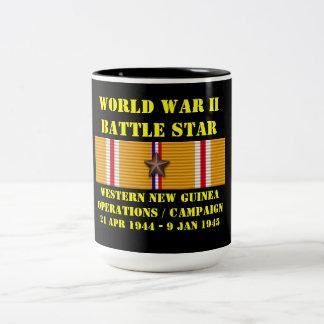 Western New Guinea Operations Campaign Two-Tone Mug