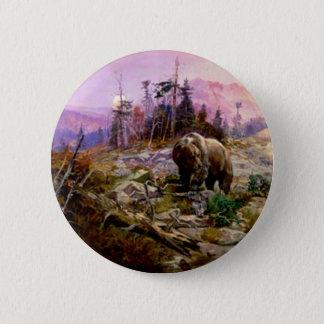 Western Nostalgia 6 Cm Round Badge