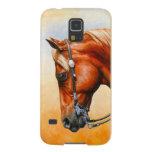 Western Quarter Horse Galaxy S5 Case