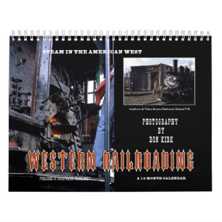 Western Railroading Calendar