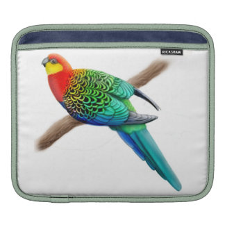 Western Rosella Parrot Rickshaw Sleeve Sleeve For iPads