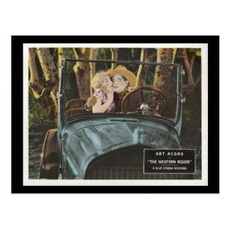 Western Rover  Silent Film 1927 Postcard