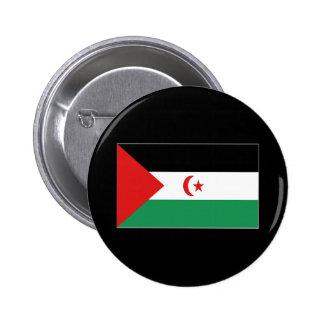 WESTERN SAHARA 6 CM ROUND BADGE