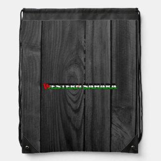 Western Sahara Drawstring Bag