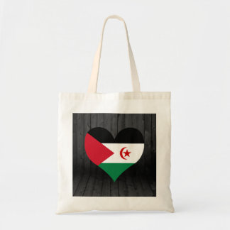 Western+Sahara flag colored Budget Tote Bag
