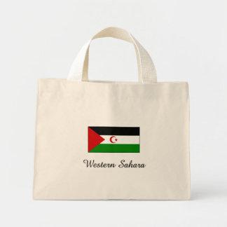 Western Sahara Flag Design Tote Bag