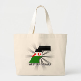 Western Sahara Flag Map 2 0 Tote Bags