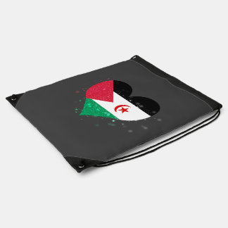 Western Sahara Flag Shining Beautiful Backpack