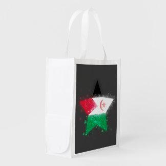 Western Sahara Flag Shining