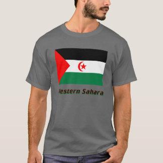 Western Sahara Flag with Name T-Shirt