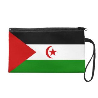 Western Sahara flag Wristlet Purses