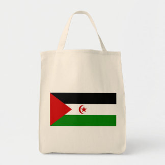 western sahara grocery tote bag