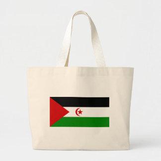 western sahara jumbo tote bag