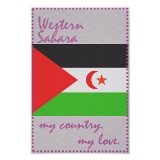 Western Sahara My Country My Love Poster