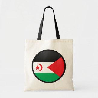 Western Sahara quality Flag Circle Bags