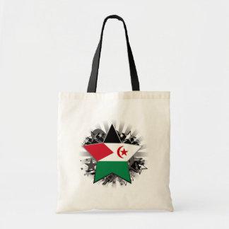 Western Sahara Star Tote Bag